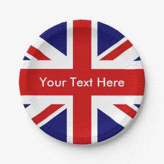 Britse Bar Union Jack Papieren Bordje