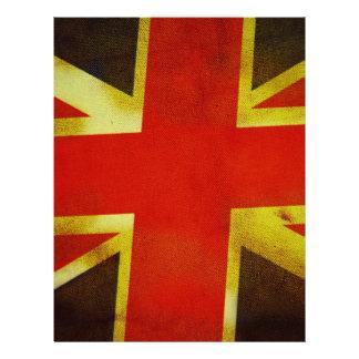 Britse Engeland Vlag Folders