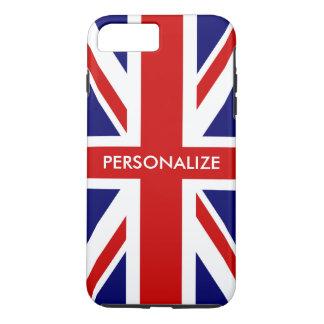 Britse gepersonaliseerde de vlag Engelse trots van iPhone 8/7 Plus Hoesje