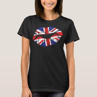 Britse Lippen T Shirt