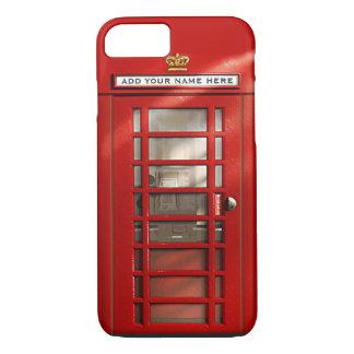 Britse Rode Gepersonaliseerde iPhone 7 van de iPhone 7 Hoesje