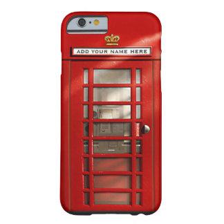 Britse Rode Gepersonaliseerde Telefooncel
