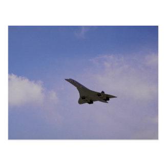 Britse Ruimte/Aerospatiale Concorde tijdens de Briefkaart