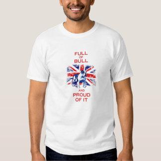 Britse Stier T Shirts