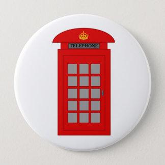 Britse Telefooncel Ronde Button 4,0 Cm