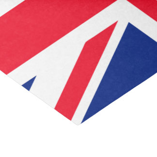 Britse Union Jack Britse Vlag 25,4 X 38,1 Cm Tissue Papier