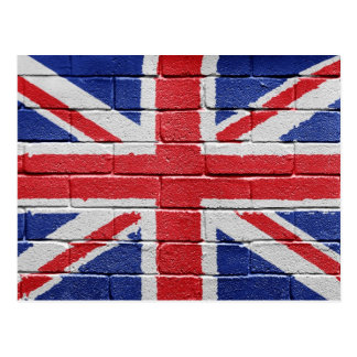 Britse Vlag Briefkaart