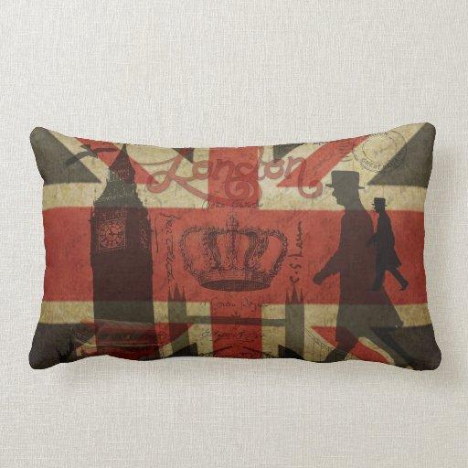 britse vlag rode bus big ben amp auteurs lounge kussens