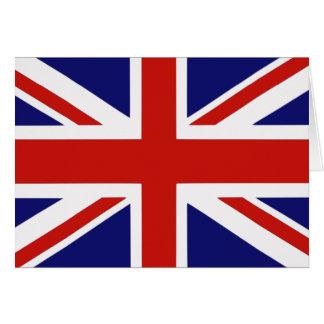 Britse vlag wenskaart