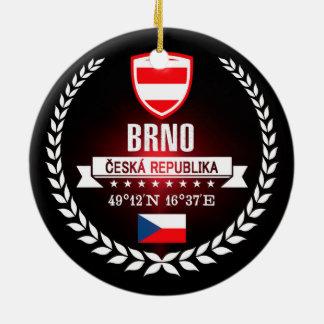 Brno Rond Keramisch Ornament