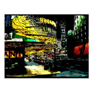 Broadway - Briefkaart