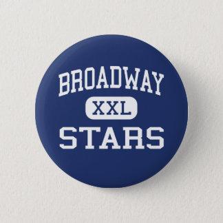 Broadway - Hoge Sterren - - San Jose Californië Ronde Button 5,7 Cm