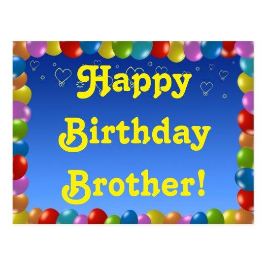 verjaardagskaart broer Verjaardagskaart Voor Mijn Broer   ARCHIDEV verjaardagskaart broer