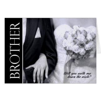 Broer - zult u me onderaan het Huwelijk van de Kaart