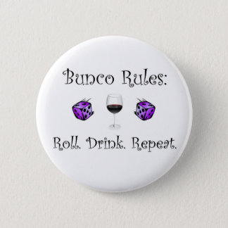 Broodje. Drank. Herhaal Ronde Button 5,7 Cm