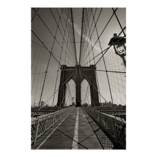 Brooklyn brug New York Poster