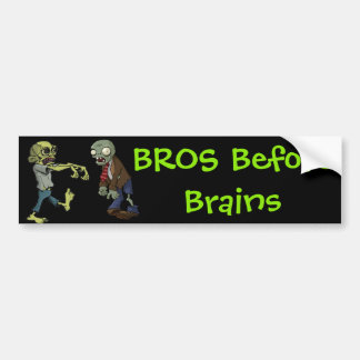 Bros vóór Hersenen… Bumpersticker