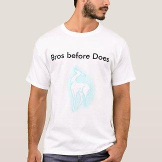 Bros vóór t shirt
