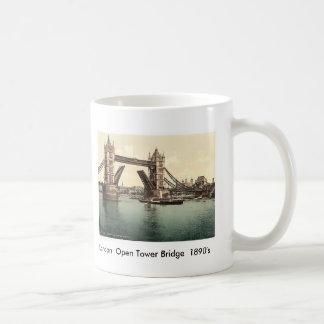 Brug 1890's van de Toren van Londen de Open Koffiemok