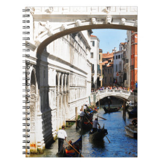 Brug in Venetië, Italië Notitieboek