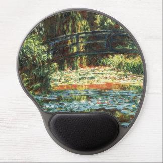Brug over de Vijver Waterlily door Claude Monet Gel Muismat