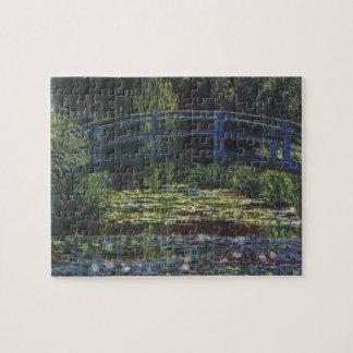 Brug over Vijver Waterlily door Claude Monet Legpuzzel