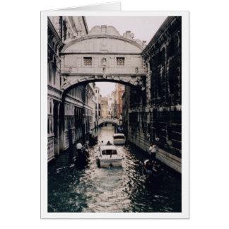 Brug van Sighs, Venetië, Italië Kaart