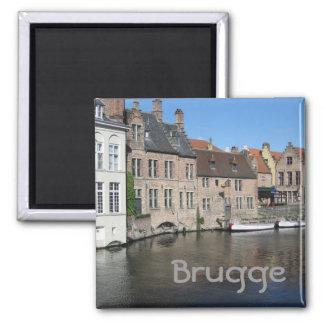 Brugge Vierkante Magneet