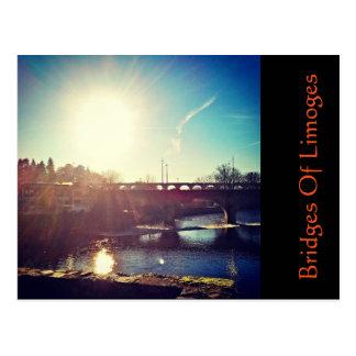 Bruggen van Limoges Briefkaart