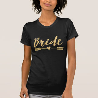 Bruid/de Stam/de pijl en hart-2 van de Bruid T Shirt