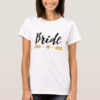 Bruid/de Stam/de pijl en het hart van de Bruid T Shirt