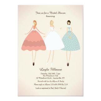 Bruid en Haar Uitnodiging van Bedienden