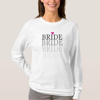 Bruid met Hart/Vrijgezellenfeest/voor de Bruid T Shirt