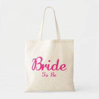 Bruid om te zijn draagtas