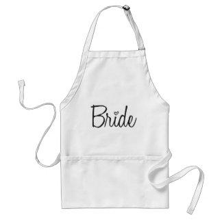 Bruid Standaard Schort