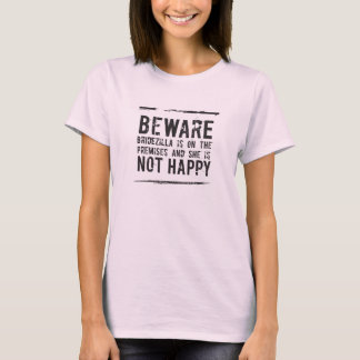 Bruids | Bridezilla is niet Gelukkig! T Shirt