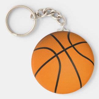 Bruin Klassiek Basketbal Sleutelhanger