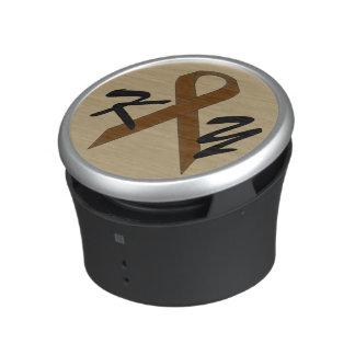 Bruin StandaardLint door Kenneth Yoncich Bluetooth Speaker