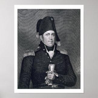 Bruin van Jennings van Jacob (1775-1828) gegraveer Poster