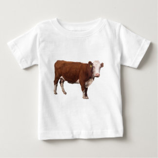 Bruine Koe Baby T Shirts