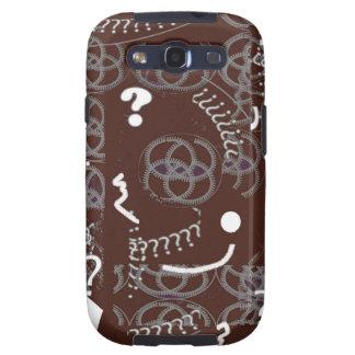 Bruine Samenvatting Samsung Galaxy S3 Cover