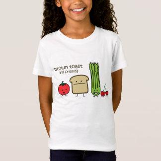 Bruine Toost en Vrienden T Shirt