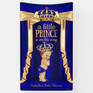 Brunette van het Baby shower van de Kroon van de Spandoek