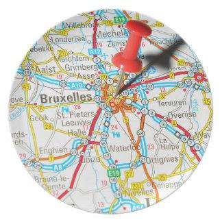 Brussel, Brussel, Brussel in België Melamine+bord