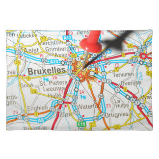 Brussel, Brussel, Brussel in België Placemat
