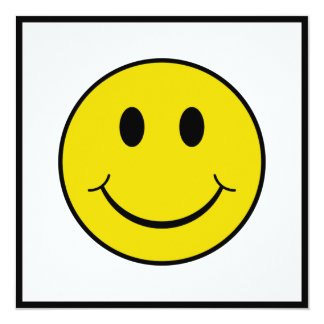 Brutale Smiley Kaart
