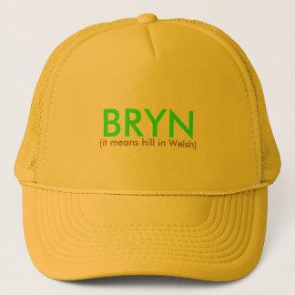 BRYN, (het betekent heuvel in Bewoners van Wales) Trucker Pet
