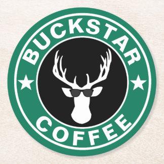 BUCKSTAR koffie Ronde Onderzetter