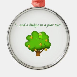 Budgie in de Ornamenten van van de Peer van de