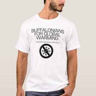 Buffalonians voor het Globale Verwarmen T Shirt